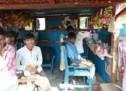 मप्र: नाई की दूकान पर भाई साब का जलवा