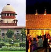सर्वोच्च अदालत ने सबरीमाला मंदिर में महिलाओं के प्रवेश पर लगी रोक हटाई (लीड-1)