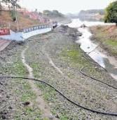 उज्जैन: शनिश्चरी अमावस्या पर भक्तों ने क्षिप्रा नदी में किया कीचड स्नान
