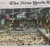 क्या BBC के बाद अब New York Times ने जम्मू कश्मीर को लेकर  झूठी खबर प्रकाशित कर रहा है ?